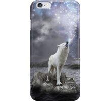 Stars Lie Hidden In Your Soul (Wolf Howl Galaxy) iPhone Case/Skin
