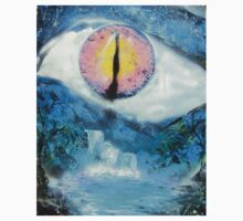 Spray Paint Art- Eye See You Kids Clothes