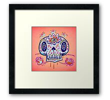 Shooga Skull Framed Print
