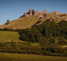 Carreg Cennen Castle near Trap by leightoncollins