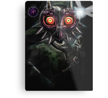 Legend of Zelda Majora's Mask Dark Link Metal Print