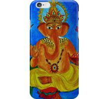 Ganesh, Remover of Obstacles iPhone Case/Skin