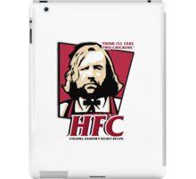 Colonel Sandor: The hound fried chicken (HFC) - Kentucky parody.  iPad Case/Skin