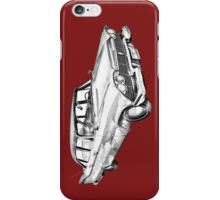 1958 Plymouth Savoy Classic Car Illustration iPhone Case/Skin