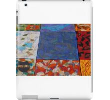 Colorful Abstract Patchwork by Holly Cannell iPad Case/Skin