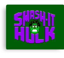 Smash it Hulk Canvas Print