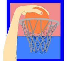 Basketball Dunk by kwg2200