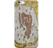Vintage Map of Venice (1649)  iPhone Case/Skin