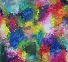 """""""In a Dream"""" original abstract artwork by Laura Tozer by Laura Tozer"""