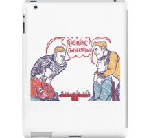 cherik vs spirk chess iPad Case/Skin