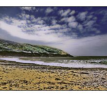 Manorbier Beach, Pembrokeshire by Tim Constable by Tim Constable