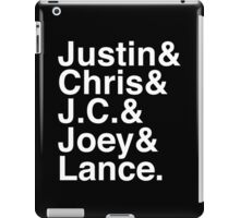 90s Boy Band iPad Case/Skin