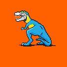 Pixevolution - Tyrannosaurus Macaw  by SevenHundred