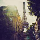 La Tour Eiffel by Mitch Waite