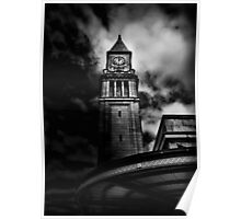 Clock Tower No 10 Scrivener Square Toronto Canada Poster