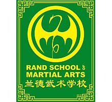Rand School of Martial Arts Shirt Photographic Print