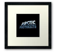 Arctic Monkeys Foggy City  Framed Print