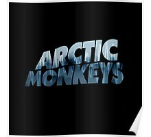 Arctic Monkeys Foggy City  Poster