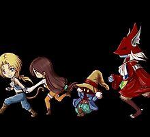 Final Fantasy IX by uyuni