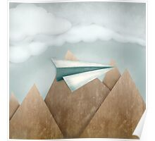 Paper Airplane 24 Poster