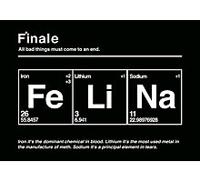 FeLiNa (Breaking Bad) Photographic Print