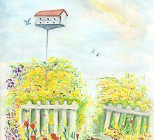 Bird house by Anne Gitto