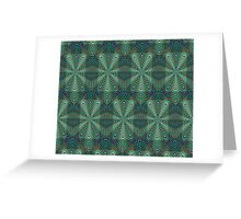 Complexion Decor [Green] Greeting Card