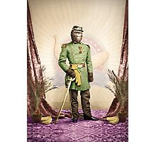 General Simian of the Glorious Banana Republic Photographic Print
