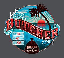 Bay Harbor Butcher Shop by Linda Hardt