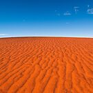 Red Sand, Blue Sky by Dieter Tracey
