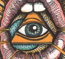 Lux Edo: Sentient Sacrement (color version) Sticker