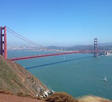 Golden Gate Bridge by saarmik