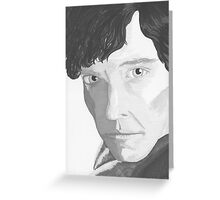 The Name's Sherlock Holmes Greeting Card