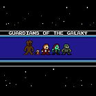 Guardians of the Galaxy Screen by 8 Bit Hero