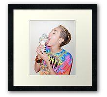 Miley Cyrus Framed Print