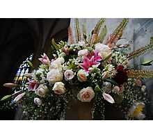 Uplifting Bouquet of Flowers  Photographic Print