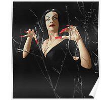 VAMPIRA RED LIP Poster