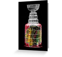 Stanley Cup Chicago Greeting Card