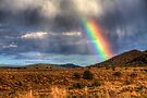 Rainbow over Taos by njordphoto