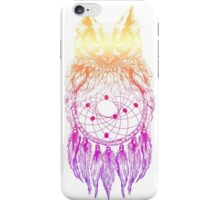 Dreamy Owl_Multi Pink iPhone Case/Skin
