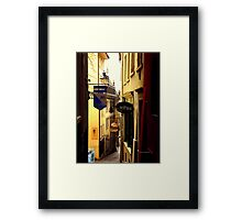 Aelpli Bar Framed Print