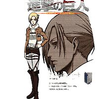 Annie Leonhardt Profile - Shingeki no Kyojin by ImAvarice
