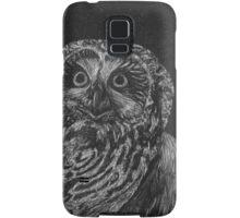 Portrait: Spotted Owl Samsung Galaxy Case/Skin