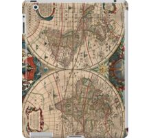 Vintage Map of The World (1641)  iPad Case/Skin