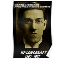 HP LOVECRAFT MEMORY Poster