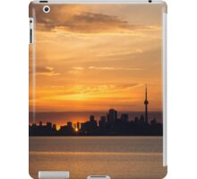 First Sun Rays - Toronto Skyline at Sunrise iPad Case/Skin