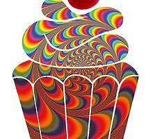 Psychedelic Cherry Cake by changetheworld