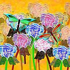 Flowers & Butterflies - all products by Dennis Melling