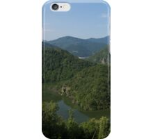 Green, Green and Green - the Water, the Mountains, the Trees iPhone Case/Skin