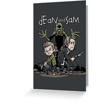 Dean and Sam Greeting Card